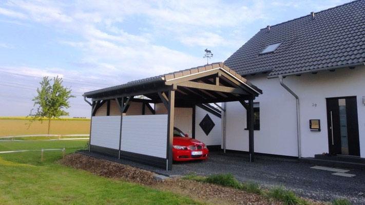 Carport Zadeldak bouwen