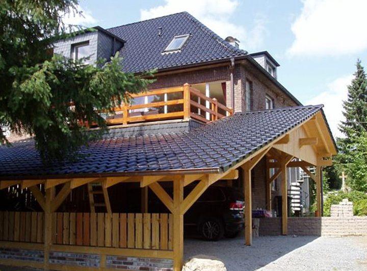 Balkon-Carport