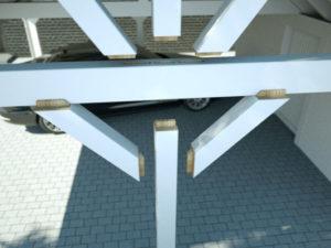 Gereedschap voor carportconstructie